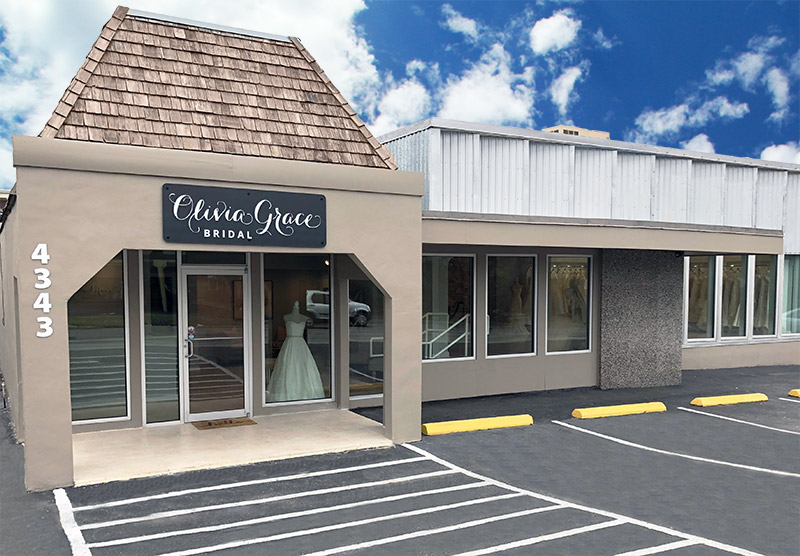 Olivia Grace Bridal Store Front